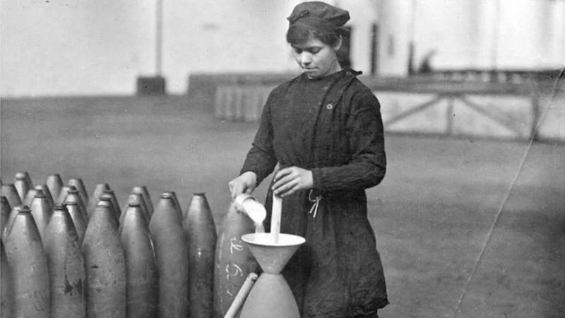 Canary Girls prvi svetski rat