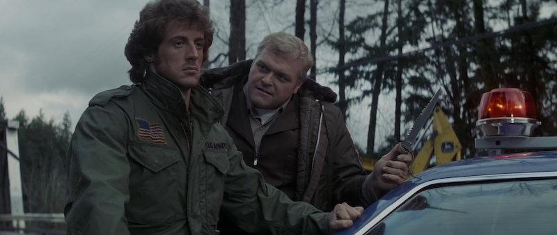 Sylvester Stallone kao John Rambo u First Blood (1982)