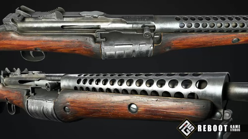 Detalji puške M1941 Johnson