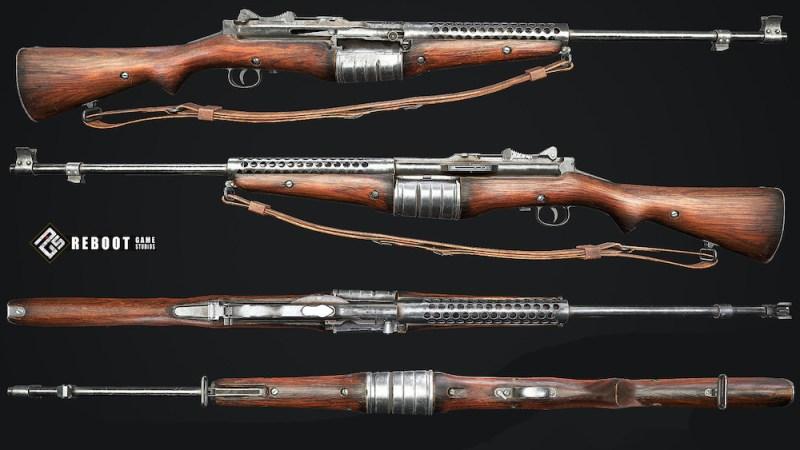 Izgledi puške M1941 Johnson