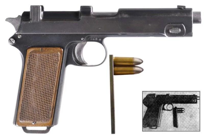 Steyr M12 sa 2 metka u okviru