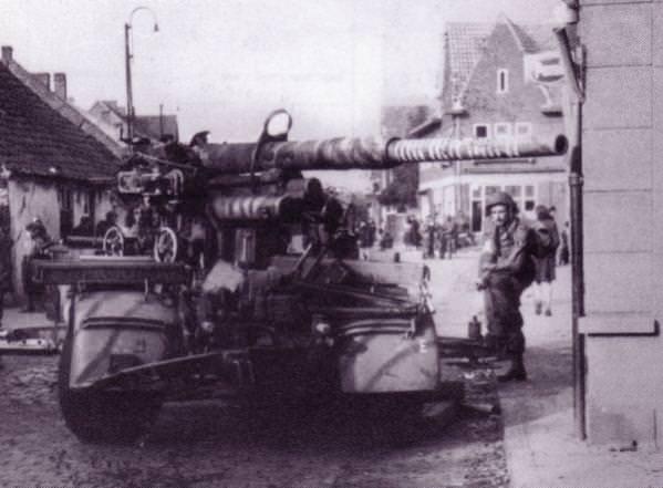Zarobljeni top kalibra 88 mm