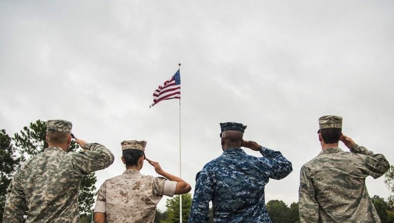 Vojnički pozdrav
