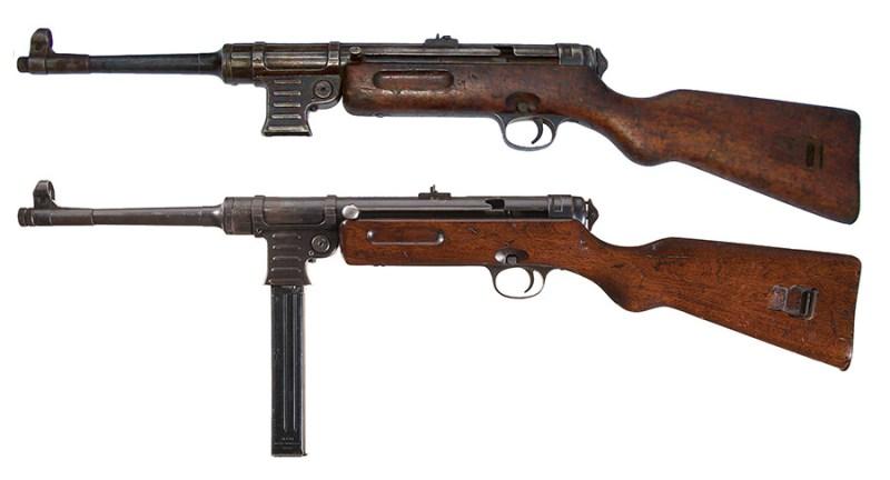 9 mm automat Schmeisser M1941