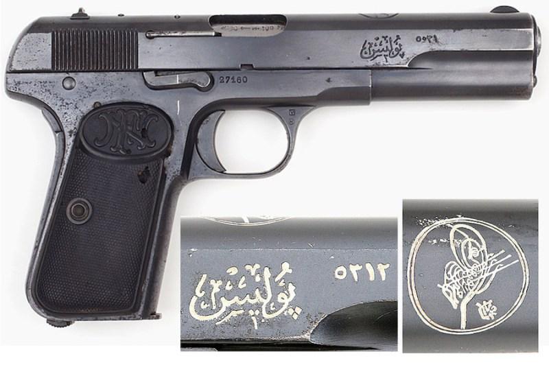 9 mm BL FN Browning M1903 osmanske žandarmerije