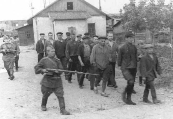 SPROVOĐENJE DEZERTERA SSSR