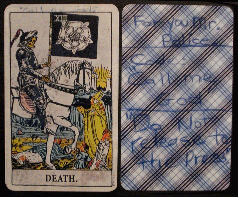 Tarot karta Smrt