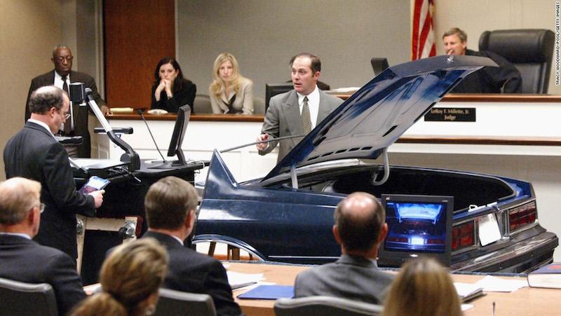 VAŠINGTONSKI SNAJPERISTA: Chevrolet Caprice kao dokaz na sudjenju