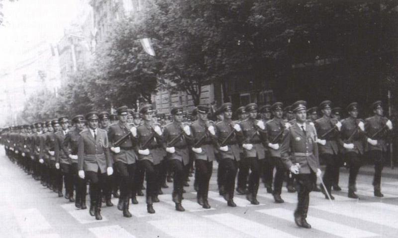 Nastup na paradi 1 maja 1965.