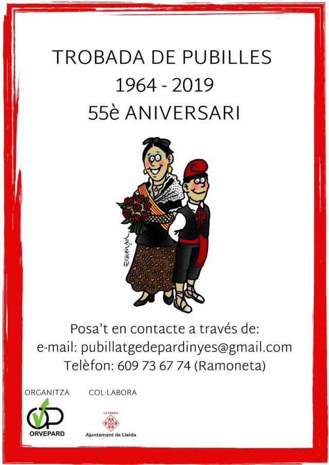 Trobada de Pubilles 1964 – 2019 – 55è Aniversari