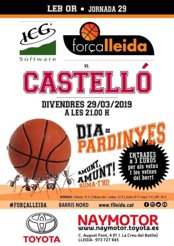 Dia de Pardinyes amb el Força Lleida 🗓