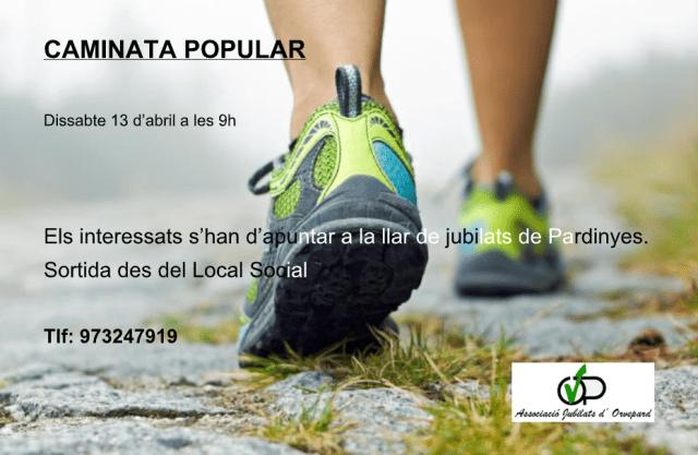 Caminata Popular 🗓