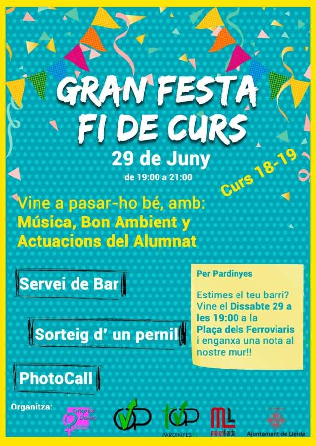 Festa Fi de Curs d'ORVEPARD