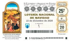 LOTERIA DE NADAL D'ORVEPARD, CORAL LLUM DE VEUS I SOMERETA