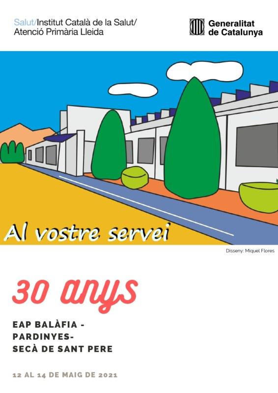 30 ANYS EAP BALÀFIA-PARDIYES-SECÀ SANT PERE