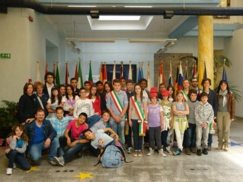 I consigli comunali dei ragazzi di San Venanzo e Monteleone in trasferta a Roma