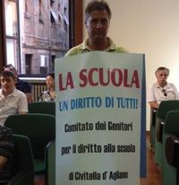 """Scuola di Civitella D'Agliano, il Comitato dei genitori per il diritto allo studio: """"Attendiamo i risultati del sopralluogo"""""""