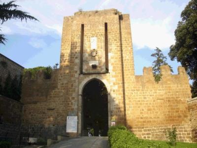 Parco Tematico nell'area del Pozzo di San Patrizio e della Fortezza Albornoz. Da un post di Foresi