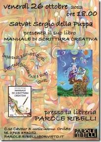 """Presentazione di """"MANUALE DI SCRITTURA CREATIVA"""