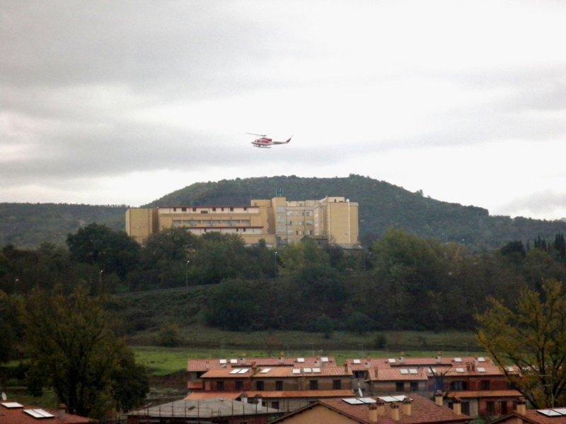 Ripristino elisoccorso all'ospedale di Orvieto, in attesa dell'autorizzazione regionale