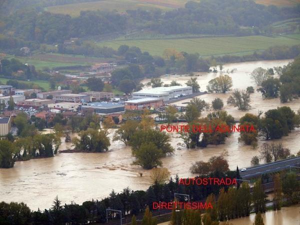 Alluvioni 2012. All'Umbria 53,4 milioni di euro