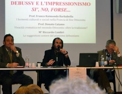 DEBUSSY INAUGURA IL NUOVO ANNO ACCADEMICO DELL'ISAO