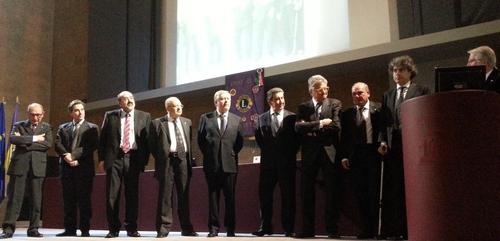 Intervento del Presidente del Lions Club Orvieto Walter Esposito in occasione della 54° Charter night