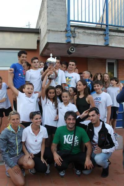 UMBRIA NUOTO VINCE IL CAMPIONATO REGIONALE UMBRO  FIN ESORDIENTI  A 2013