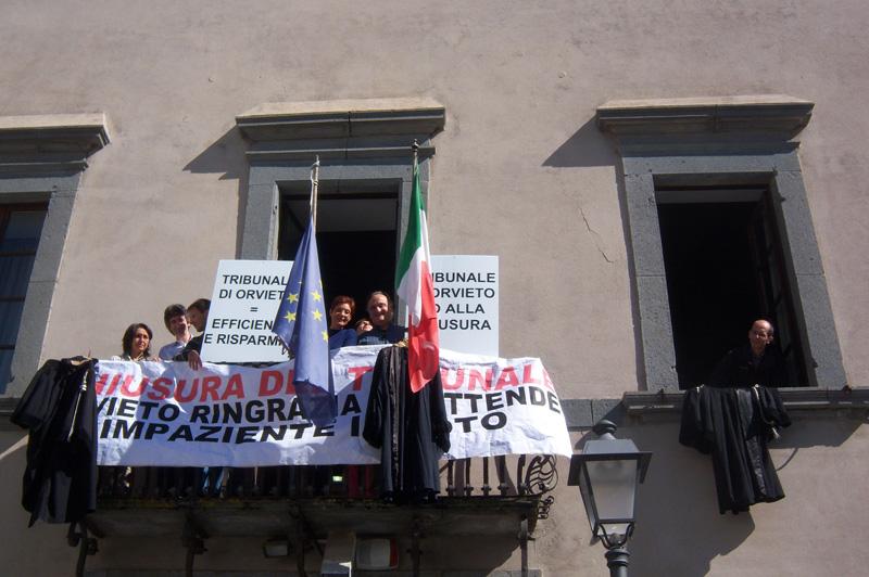 Chiusura tribunali minori, Orvieto aderisce al costituendo Comitato per la difesa Giustizia di prossimità
