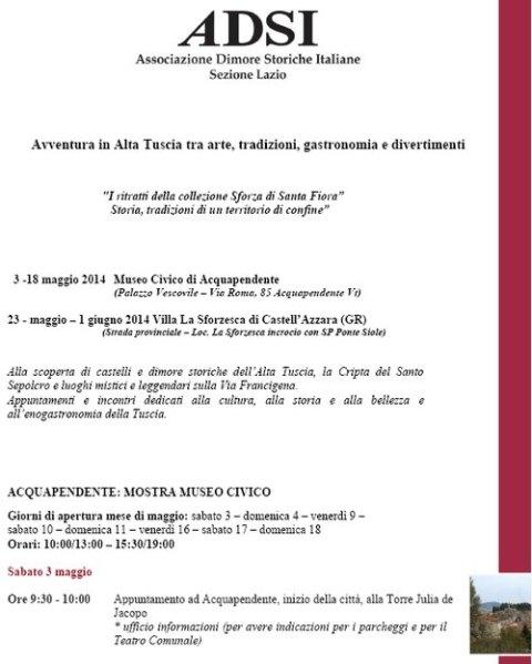 I ritratti della collezione Sforza di Santa Fiora. Mostra al Museo della Città dal 3 al 18 maggio
