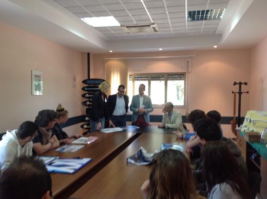 Ponte Giulio incontra studenti dell'Istituto Italiano del Design. Un'azienda che guarda avanti