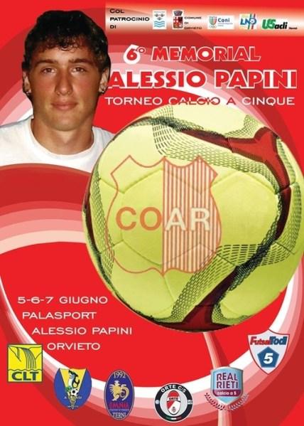 Memorial Alessio Papini il 5-6 e 7 giugno