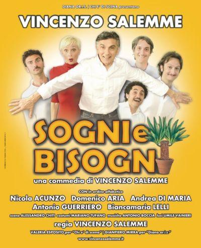 SOLD OUT per VINCENZO SALEMME il 14 novembre al Mancinelli