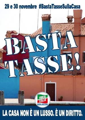 Forza Italia per il No-Tax DAY