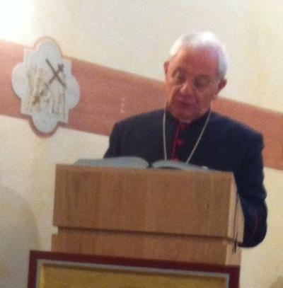 Giovedì 22 Ottobre a Spagliagrano di Todi ritiro spirituale mensile del Clero della Diocesi