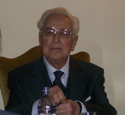 Torquato Terracina presidente onorario della Fondazione Cassa di Risparmio di Orvieto