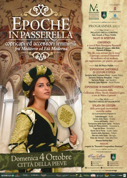 EPOCHE IN PASSERELLA 2015 Città della Pieve