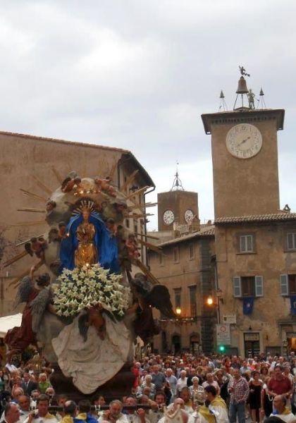Festa di Maria Assunta, Patrona del Comune di Orvieto. Il programma religioso