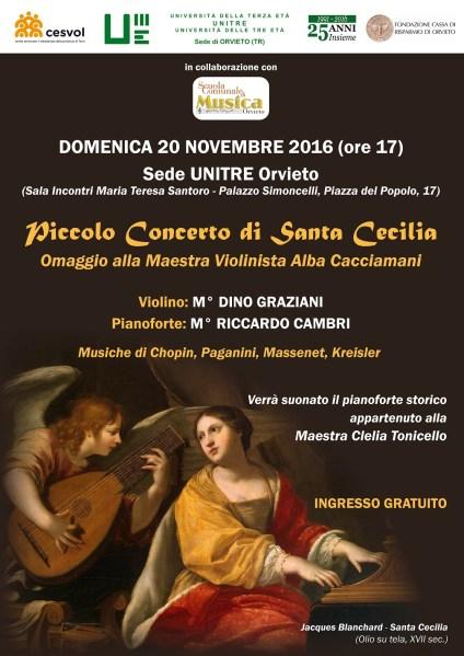All'UniTre si festeggia Santa Cecilia con un récital per violino e pianoforte