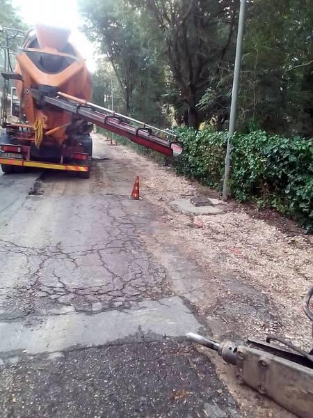 Viabilità, iniziati lavori per ripavimentazione strade Collelungo, Ripalvella e Ospedaletto