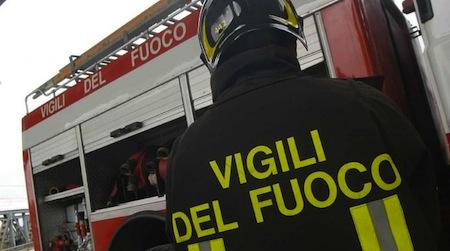 Va a fuoco la canna fumaria, incendio in un appartamento a Castiglione in Teverina