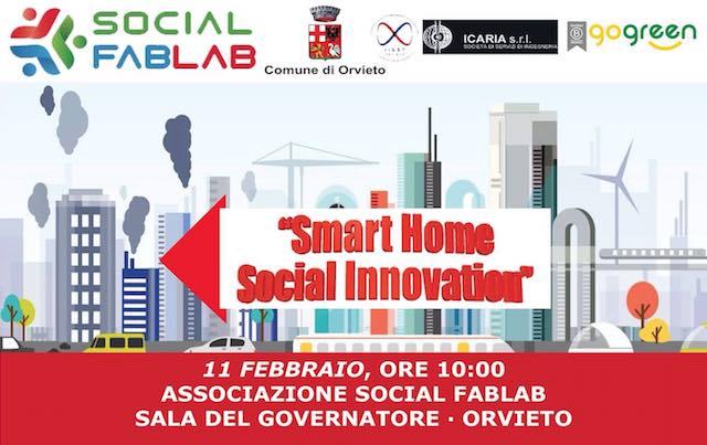 """""""Smart Home Social Innovation"""" se ne parla al Palazzo dei Sette con Social FabLab"""