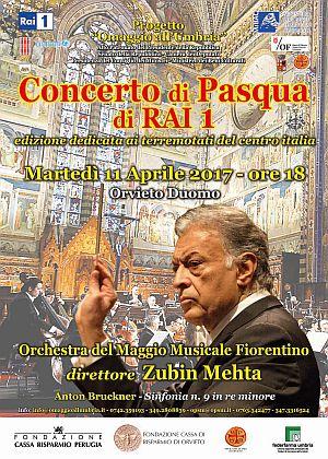 """Concerto di Pasqua dal Duomo di Orvieto apre la stagione 2017 del """"Progetto Omaggio all'Umbria"""""""
