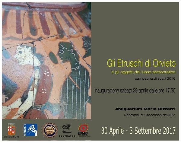 Gli Etruschi di Orvieto e gli oggetti del lusso aristocratico, in mostra all'Antiquarium della Necropoli