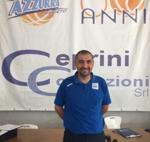 La Azzurra Orvieto e coach Romano ancora insieme