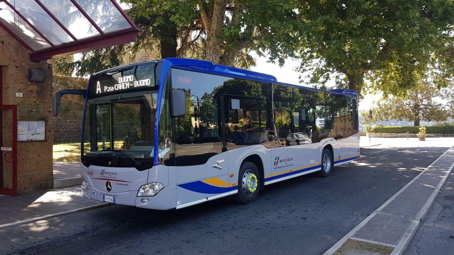 Potenziato il servizio di trasporto a Orvieto, in esercizio un nuovo autobus