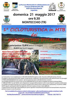 Al via la 1^ edizione di Cicloturistica in mountain bike dei Montecchio d'Italia