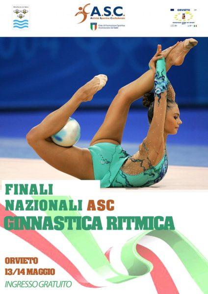Al Palapapini le Finali Nazionali di Ginnastica Ritmica ASC 2017