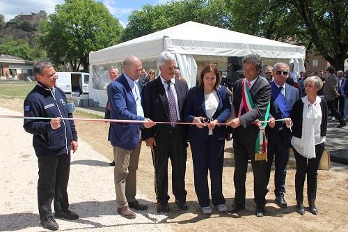 Consegnato ai cittadini il primo stralcio del Parco Urbano del Paglia