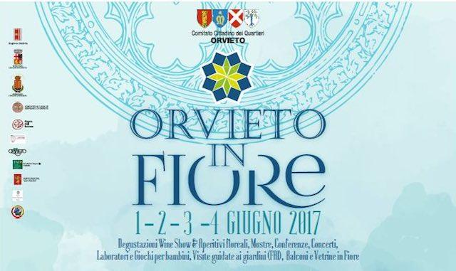 Orvieto in Fiore, dal 1 al 4 giugno tutti gli eventi in programma